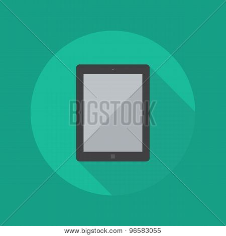 Technology Flat Icon. Tablet