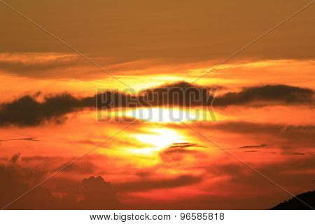 Sunset In The Cloud