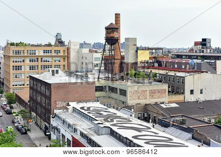 Williamsburg Cityscape, Brooklyn, New York