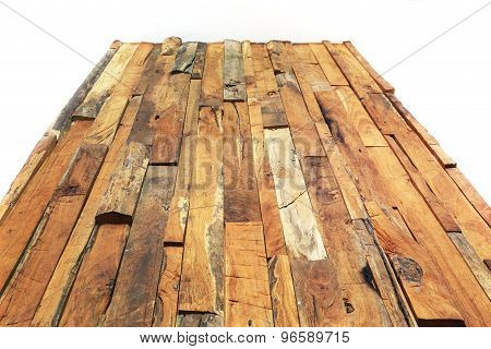 Timber Wood Brown Plank Texture Weathered Background