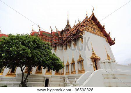 The Dusit Maha Prasat Palace at Ancient Siam in Samut Prakan
