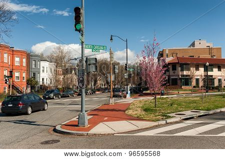 North Carolina st in Washington DC, United States