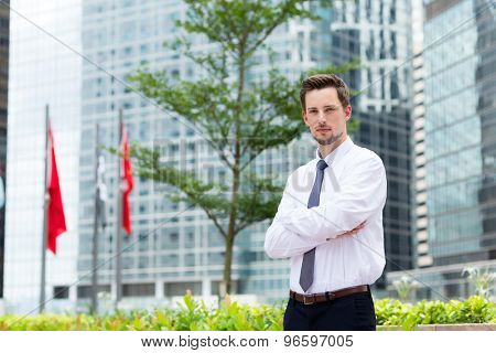 Young Businessman at Hong Kong