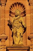 picture of samson  - Heidelberger Castle Ottheinrich building statue of Samson - JPG