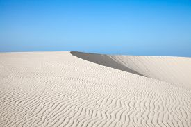 image of barchan  - Northern Fuerteventura Canary Islands nature reserve Dunes of Corralejo - JPG