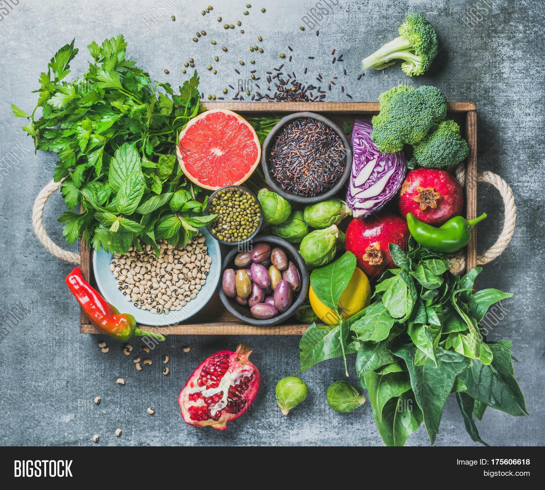 Vegetables, Fruit, Seeds, Cereals, Image & Photo | Bigstock