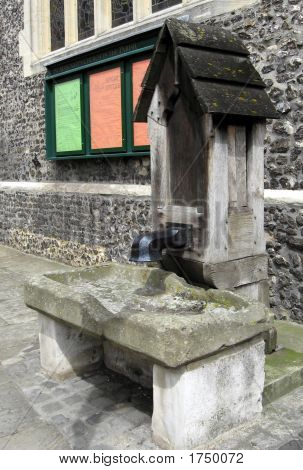 Old Village Water Pump