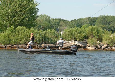 Fishing On Muskegon Lake