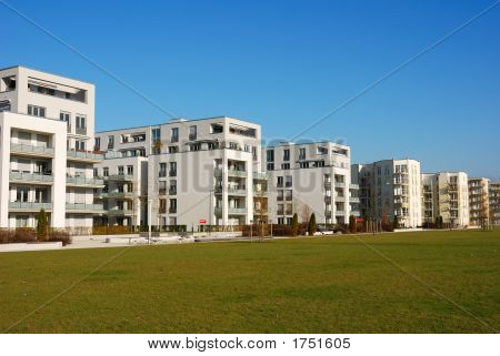 Modern Appartment Buildings