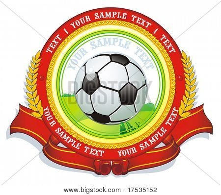 Certified decorative labels or sticker collection - graphic illustration. Shiny Control Sport Set of design element, vector labels for quality warranty