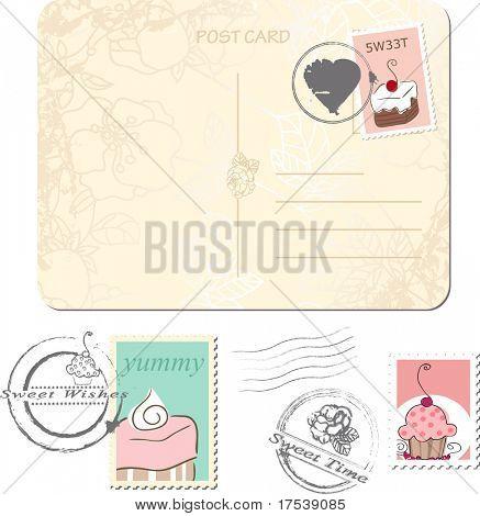 postage set - sweets