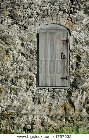 Door On An Old House.