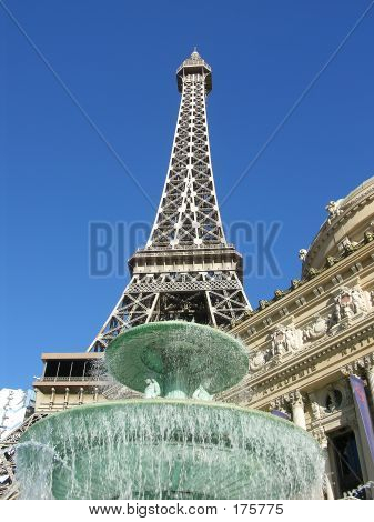 Fountain And Tower
