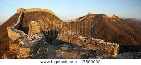 China's Great Wall at Jinshanling