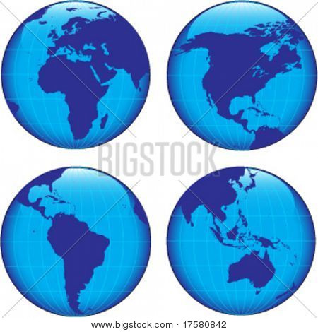 BLUE WORLD (vector)