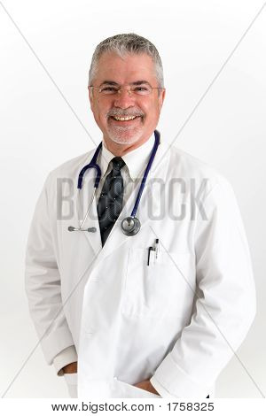 Doctor With Big Smile