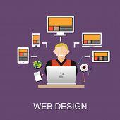 web poster