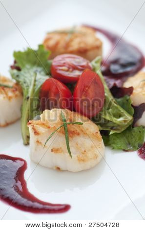 Fresh Seared Scallop