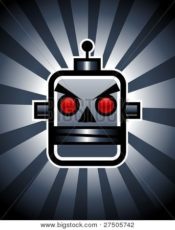 Evil Retro Robot