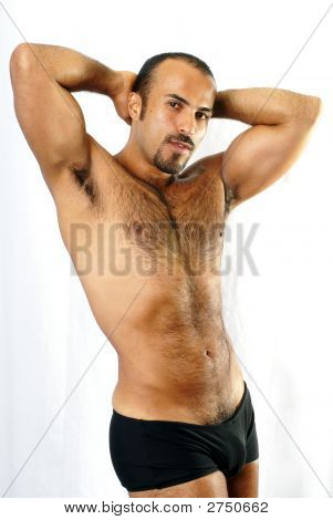 Sexualized Male Body Shot