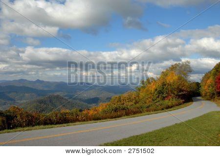 Beckoning Blue Ridge Parkway
