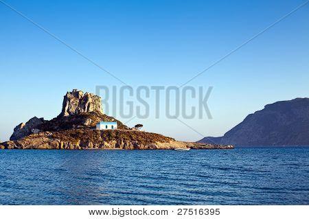 Island Kastri In Greece