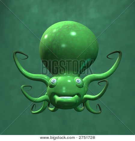 Olaf The Toonimal Octopus
