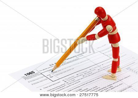 1065 Tax form