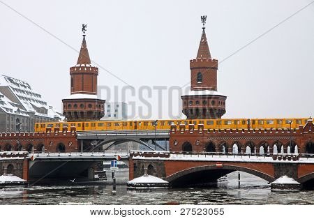 Oberbaumbrucke Bridge in Berlin