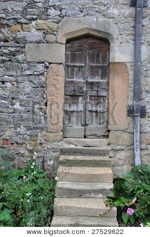 Haddon Hall Door