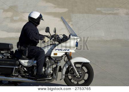 Motorrad-Cop