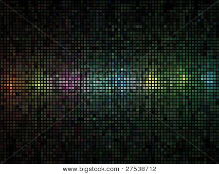 Colored Background Of Squares