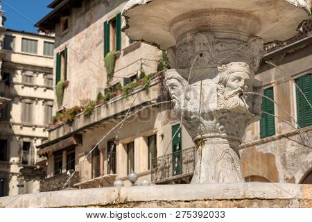 Fountain Of Madonna Verona With