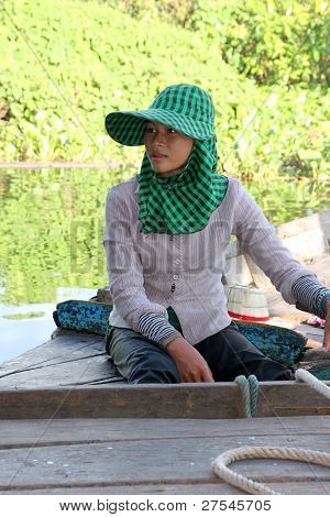 Travel In Tonle Sap Lake, Khmer Republic