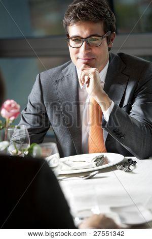 Business Dinner or Elegant Couple