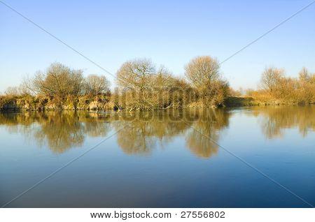 Coast Of The Autumn River