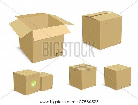 Carton Boxes Set