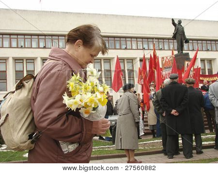 International Day of the Worker's Solidarity in Russia (Communists' meeting)