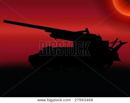 Ww2 Sunset Self Propelled Gun