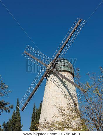 Monteriore Windmill in Jerusalem