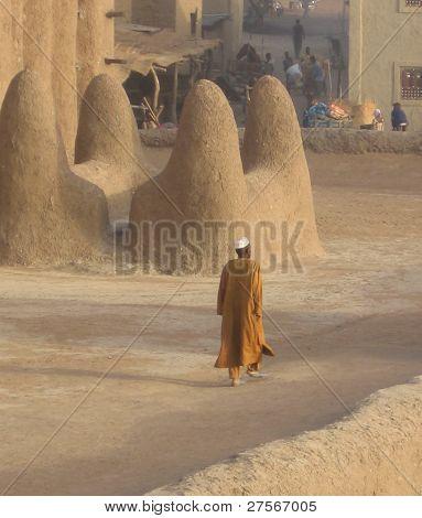 A Muslim man in Djenne, Mali.