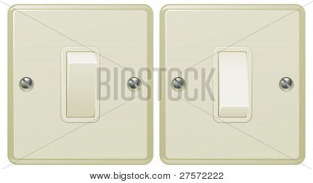 Ilustración del interruptor de la luz