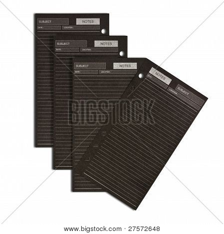 Many Black Business Notepaper