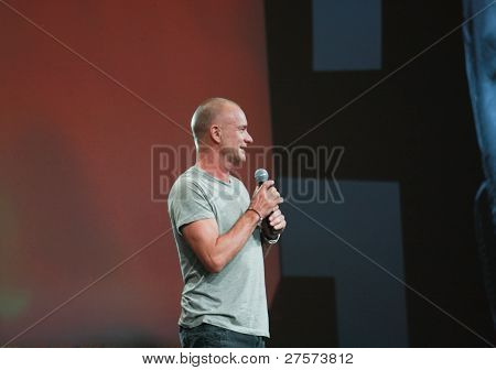 San Francisco, Ca, Oct 5, 2011 - World-renowned Grammy-winning Musician And Singer Sting Welcomes At