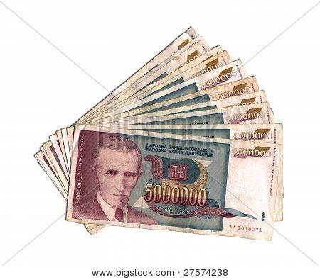 The Yugoslav dinar