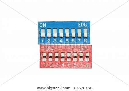 Dip Switches Isolated
