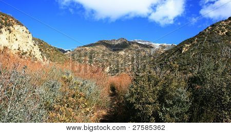 Potrero John Trail Panorama