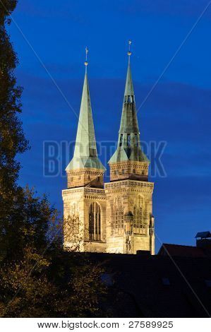 St. Lorenz Church Towers