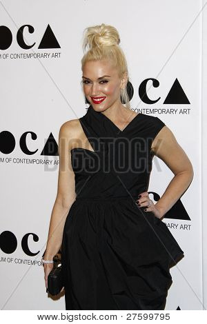 LOS ANGELES - NOV 12: Gwen Stefani at the 2011 MOCA Gala, An Artist's Life Manifesto at MOCA Grand Avenue on November 12, 2011 in Los Angeles, California
