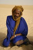 Berber Pathfinder in the Sahara Desert of Mali